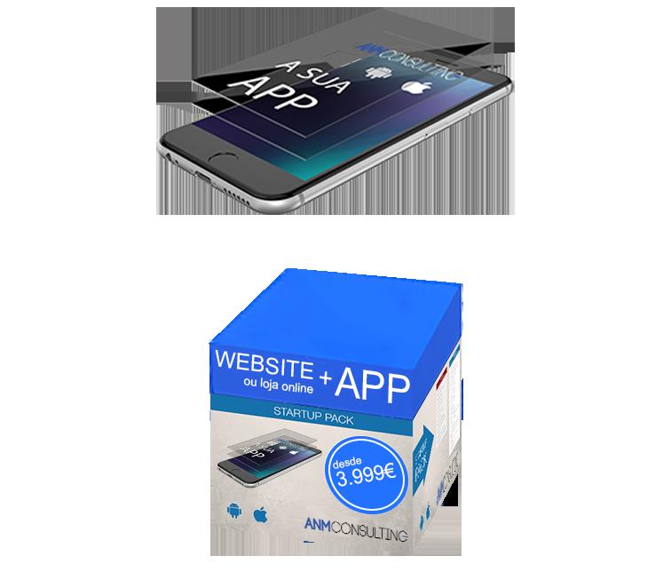Criação Apps e Lojas Online